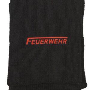 Woll-Schal mit Feuerwehr-Logo bestickt-0