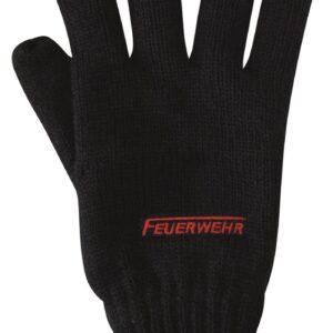 Strick-Handschuh Feuerwehr-Logo-0
