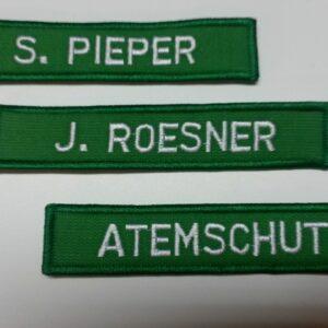 Brust- & Namenschild, Namensbänder 15 x 5 cm-0
