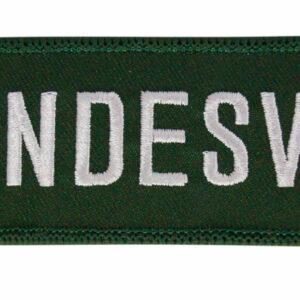 """Stoffschlüsselanhänger """"Bundeswehr"""""""