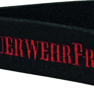 "Filzschlüsselanhänger ""Feuerwehrfrau"""