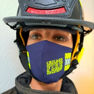 Mund-Nasenmaske Facemask Chicago Fire Department CFD Limited Edition Mundschutz navy