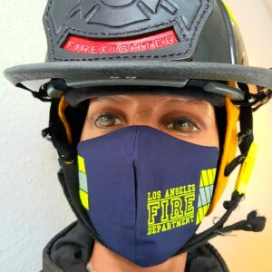 Mund-Nasenmaske Facemask Los Angeles Fire Department FDLA Limited Edition Mundschutz navy
