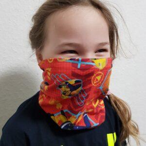 Loop Schal Kinder Feuerwehrmann Sam Nasen- und Mundschutz, Multifunktionstuch