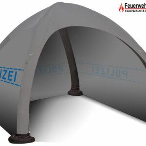 Schnelleinsatzzelt GYBE Humanity-Tent Polizei