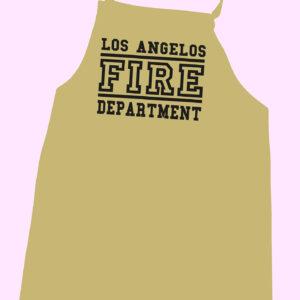 Los Angelos Fire Department Grillschürze-0