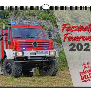 Wandkalender Faszination Feuerwehr 2021 DIN A 3 Hochglanz