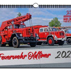 Wandkalender Feuerwehr Oldtimer 2021 DIN A 4 Hochglanz